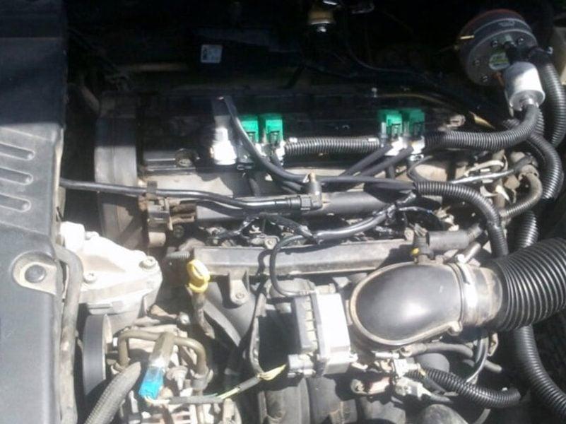 סיטרואן C5 נפח 1997 שנת 2004 - מערכת גז