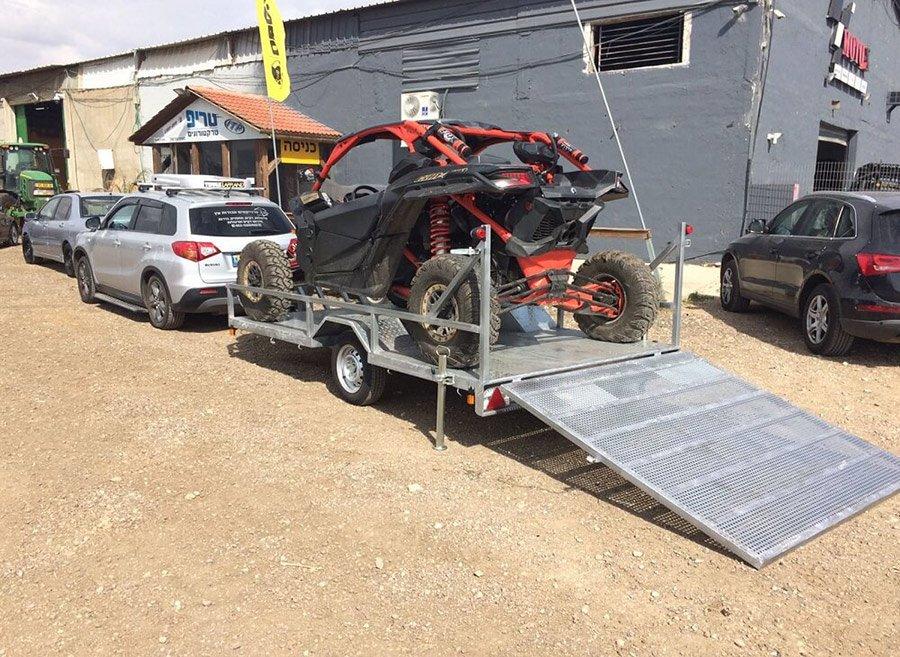 נגרר ספורט 1200 לחילוץ טרקטורונים